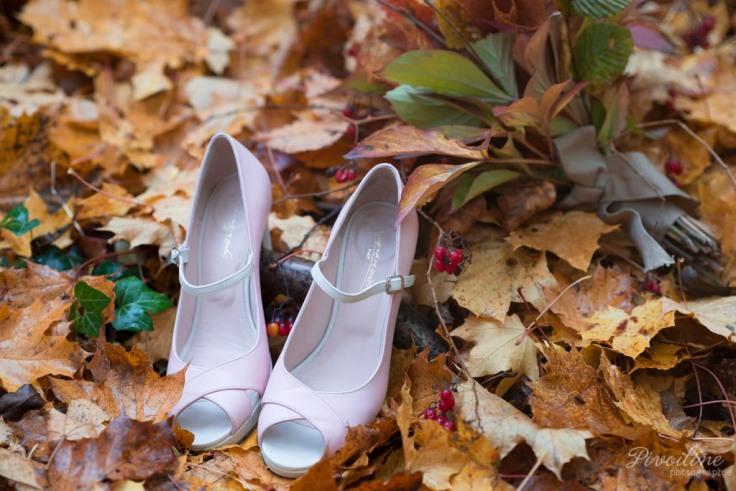 Chaussures de la mariée