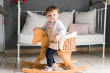Beauvais cheval en bois