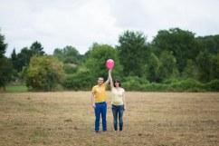Grossesse Beauvais champ ballon
