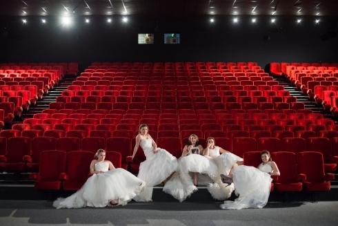 Mariage cinéma grande salle