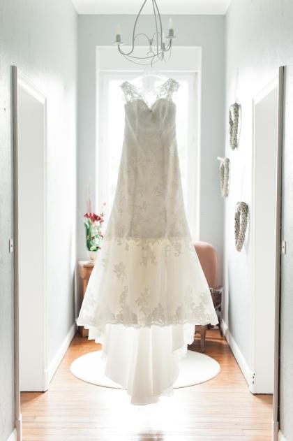 Mariage domaine du Mont Rouge Aisne robe sirène