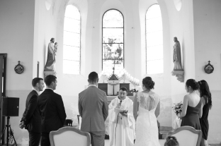 Mariage turquoise domaine du Mont Rouge
