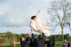 Saut mariée Mariage Ecuries Bayencourt Compiègne
