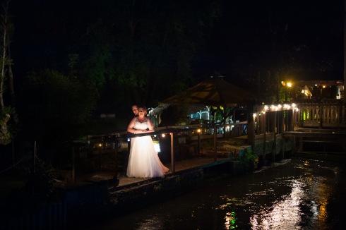 Nuit ponton Mariage Moulin des forges Saint Omer
